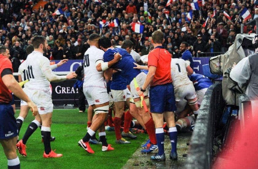 vidéo l'éclair de dupont les anglais vexés rugby france xv de départ 15