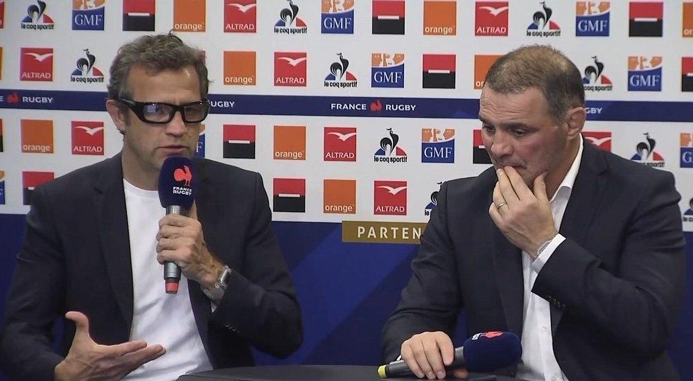 bleus fabien galthié dresse un premier bilan rugby france xv de départ15
