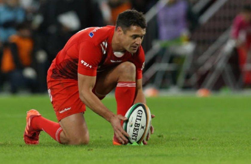 transfert dan carter vers les états-unis rugby international xv de départ 15