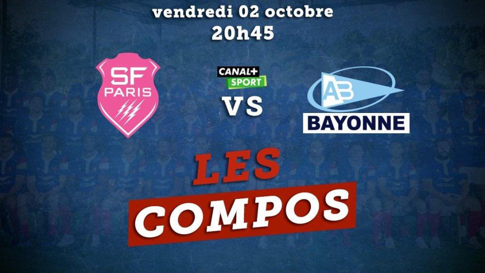 top 14 compos stade français vs bayonne rugby france xv de départ 15