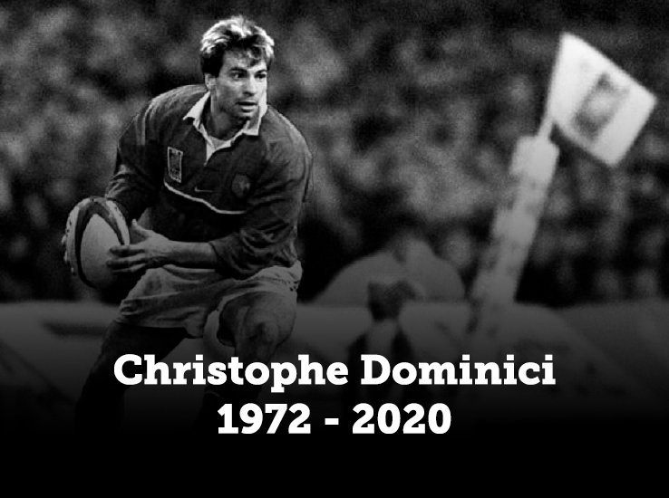 décès christophe dominici témoignages personnalités rugby france xv de départ 15