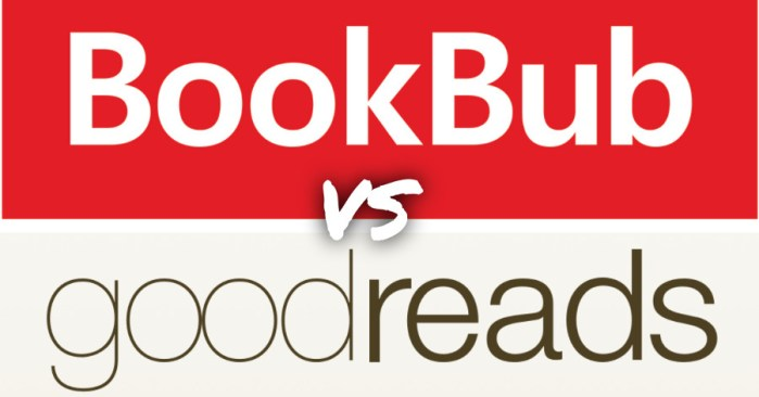 All the Reasons I Love BookBub (vs. Goodreads)