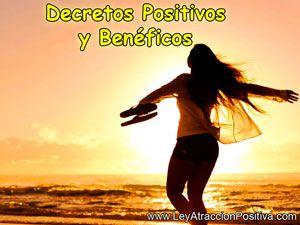 Decretos Positivos y Benéficos
