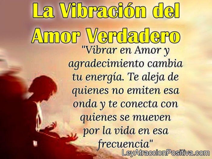La Vibración del Amor Verdadero