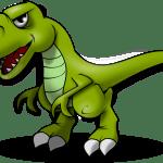 El dinosaurio torpón  (Fábula)
