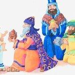 Los tres Reyes Magos, poema navideño