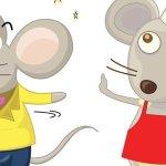 El ratón campesino y el cortesano -Fábula