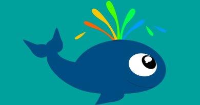 La ballena feliz: Fábula para niños