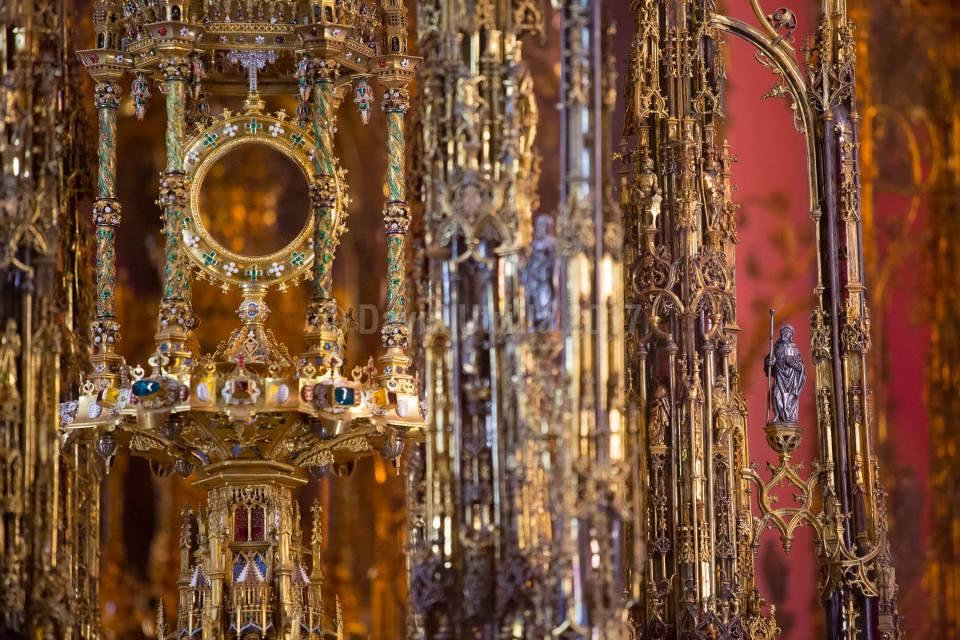 La Custodia de la Catedral de Toledo - Leyendas de Toledo