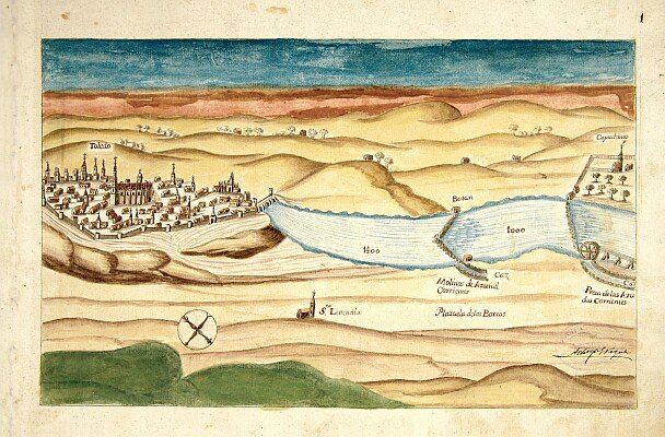 Lámina de la obra Corografia del rio Tajo de 641-página 005