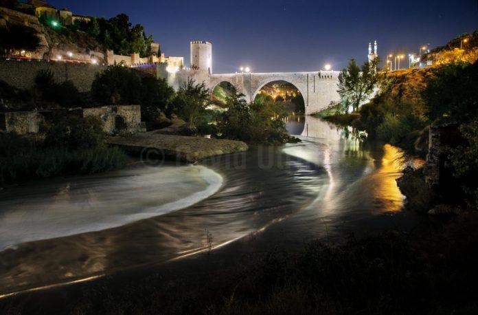 Puente de Alcántara en Toledo, por David Utrilla