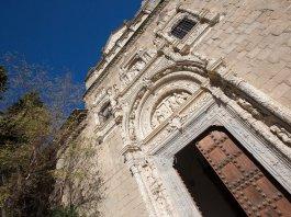 Portada del Museo de Santa Cruz de Toledo