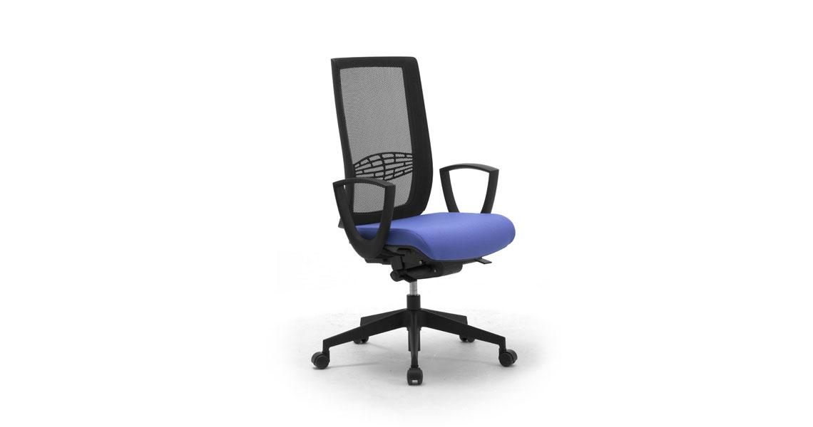 Grazie a promoqui, puoi cercare le migliori offerte di mobili per ufficio ma anche di arredamento ai prezzi più convenienti. Sedie E Poltrone Per Ufficio Con Schienale In Rete Leyform