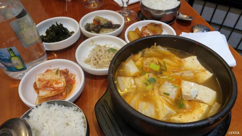 légumes goût coréen