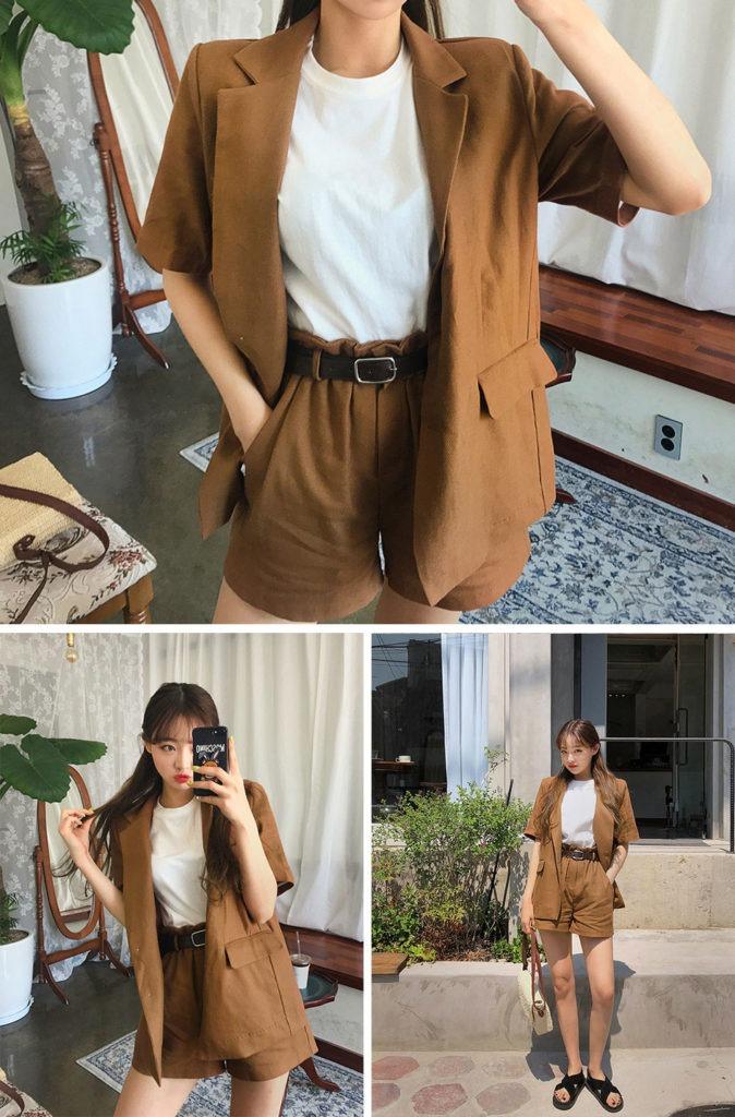 short asian fashion