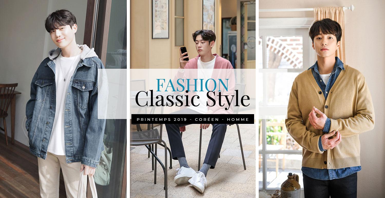 Le printemps arrive, place à la mode coréenne pour hommes