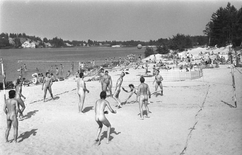 naturisme sur la plage