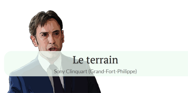 Sony Clinquart à Grand-Fort-Philippe