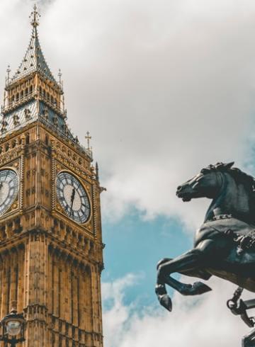 Londres et The crown