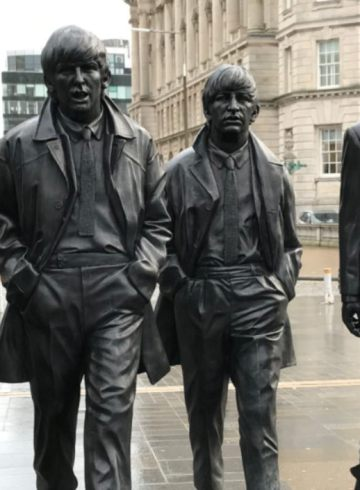 Les Beatles à Liverpool