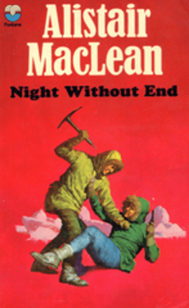 Cover of the 1970s Fontana edition of Night Without End