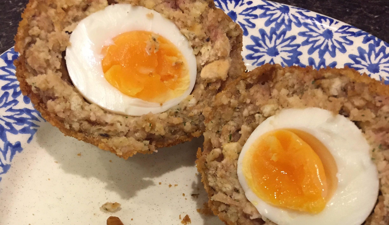 Sosmix scotch eggs (now with GF option!)