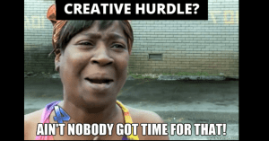 creative hurdle