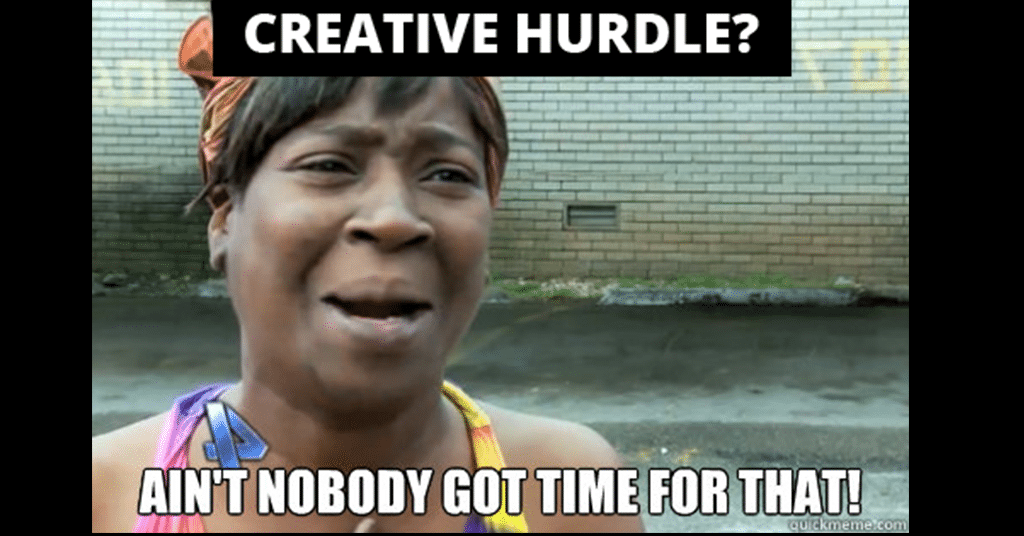 5 creative hurdles that small time producers can't seem to get over