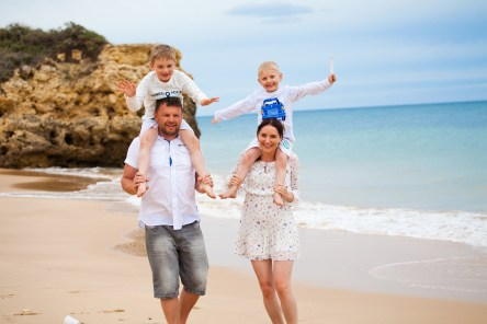 Family Photo Shoot in the Algarve