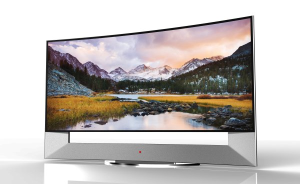 LG TO UNVEIL WORLD'S FIRST 105-INCH CURVED 4K ULTRA HD TV ...