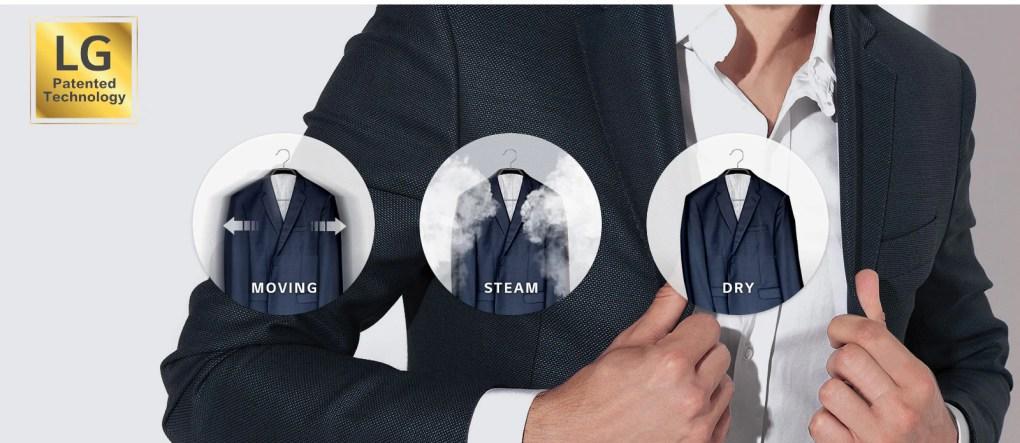 Moving Hanger x TrueSteam™ Clothing Care1
