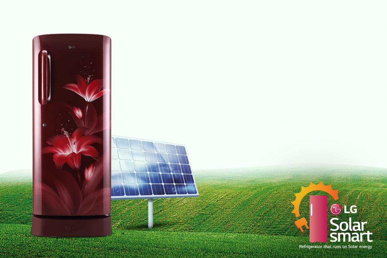 LG Single Door Refrigerator Solar Smart