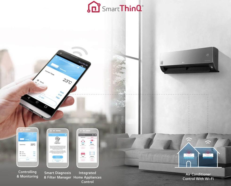 Wi-Fi керування за допомогою Smart ThinQ 1