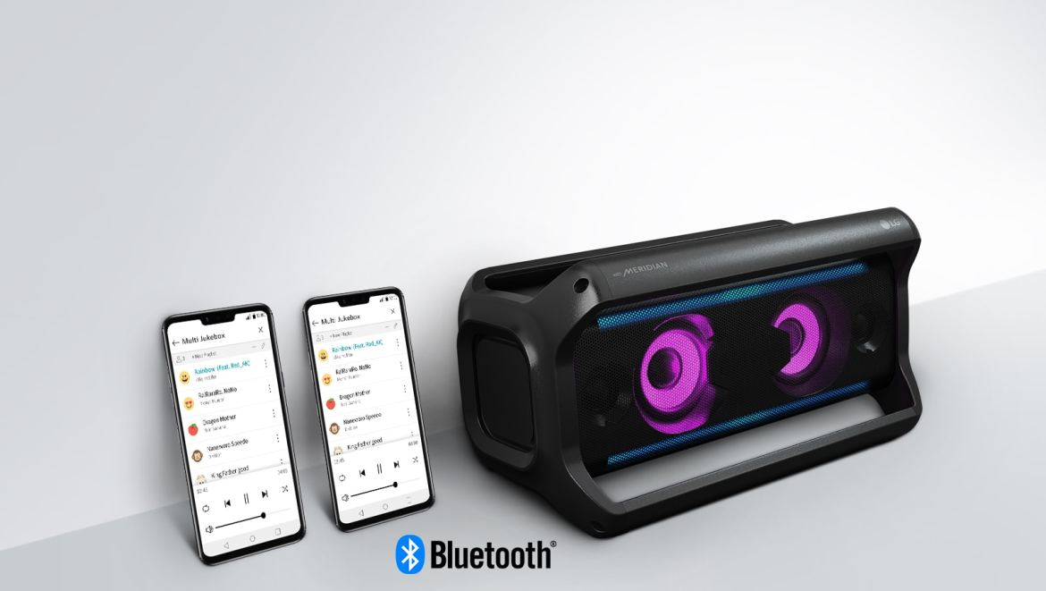 Share the Playlist with Multi Bluetooth1