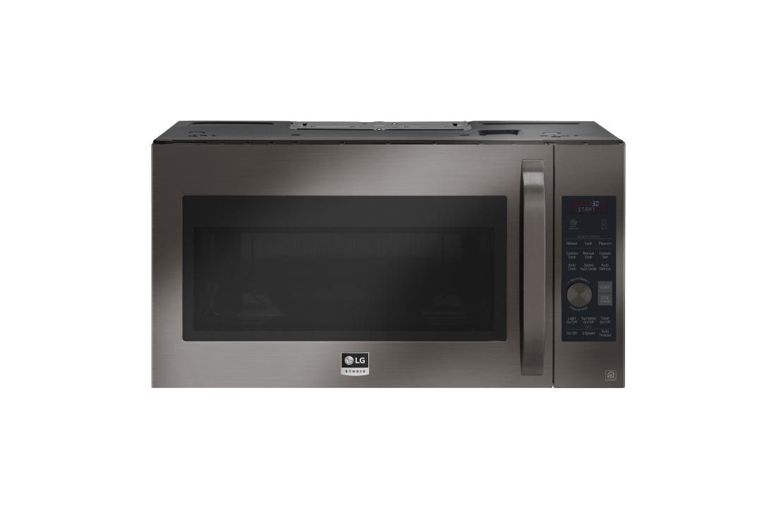 lg studio 1 7 cu ft over the range convection microwave oven