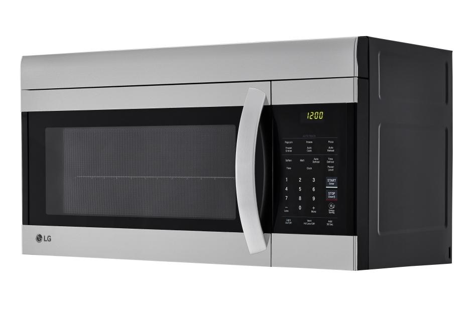1 7 cu ft over the range microwave oven