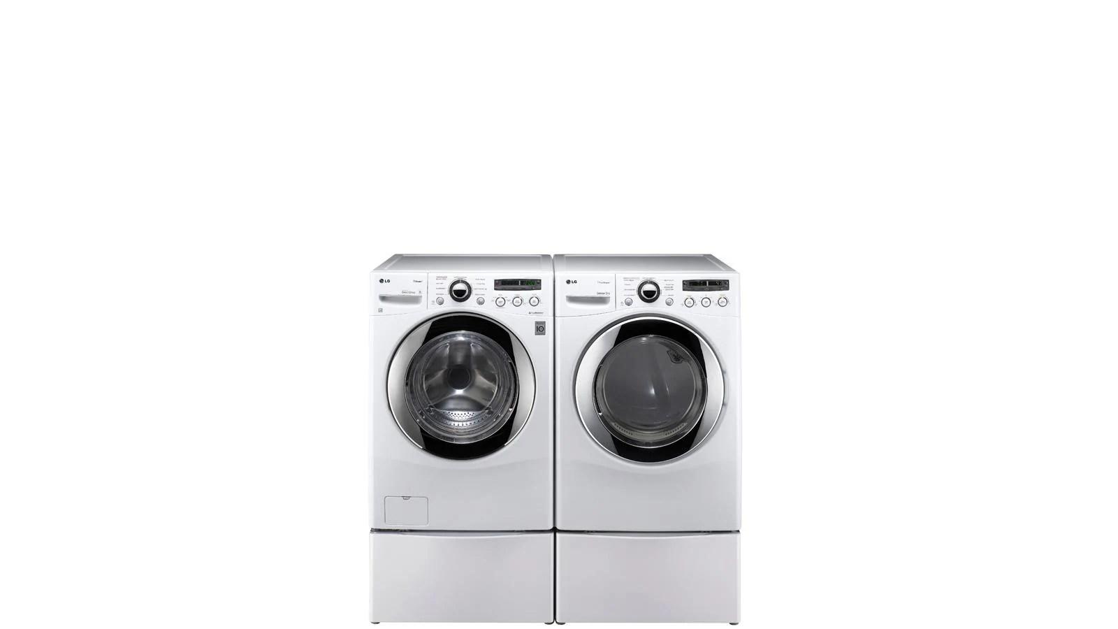 Lg 2x Laundry Pedestal Storage