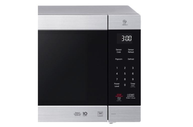 2 0 cu ft neochef countertop microwave with smart inverter and easyclean