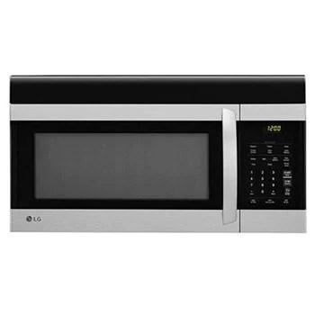 lg stainless steel microwaves