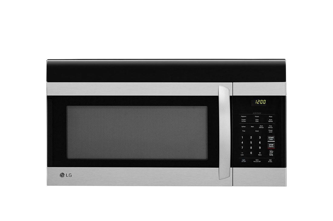 1 7 cu ft over the range microwave oven with easyclean