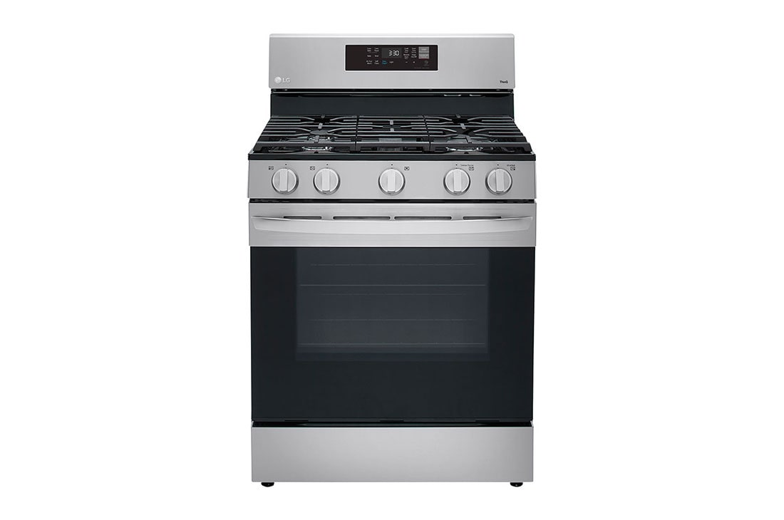 5 8 cu ft smart wi fi enabled fan convection gas range with air fry easyclean