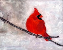 """© Laura Gabel, """"Winter Watch"""". Private collection."""