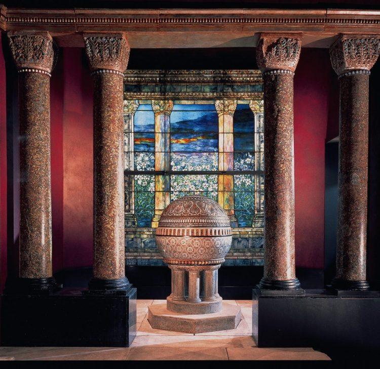 Morse Museum, Tiffany chapel 4