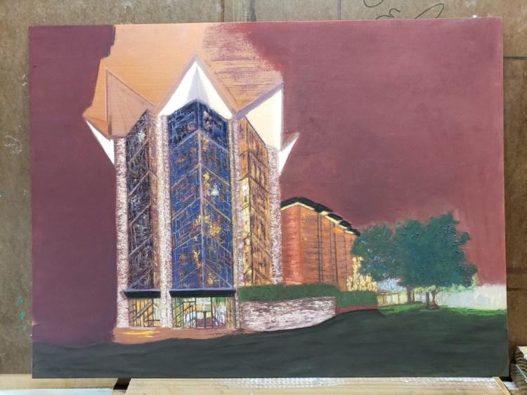 Faithfulness - Anniversary Chapel progress shot