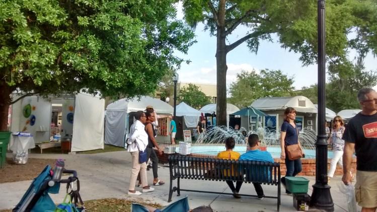 Winter Park Sidewalk Art Festival