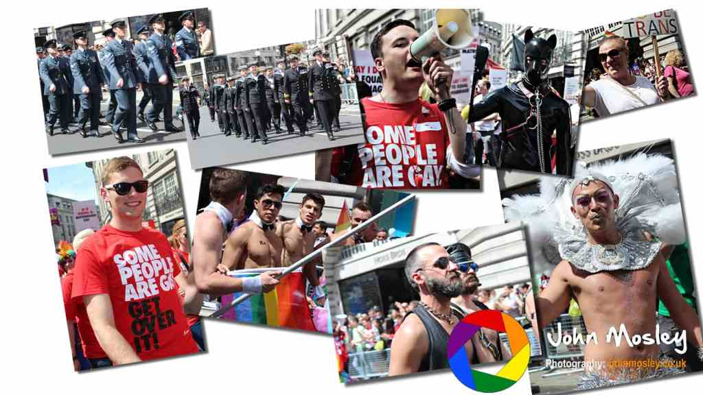 London Pride - Gay photography