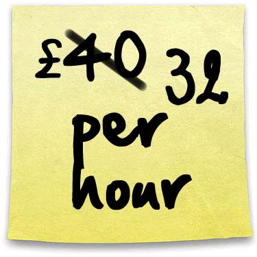 lgbt computer geek £40 per hour post-it