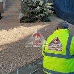 Pardoseala DURAPAVE Larex Global Floor LGF alee de access casa de locuit cu rasina peste suport beton