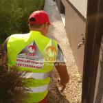Pardoseala DURAPAVE Larex Global Floor LGF aplicare material gletiera alee de access casa de locuit