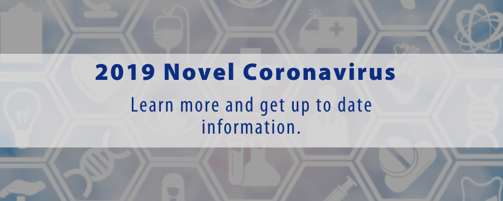 2019 Novel Coronavirus Outbreak Update